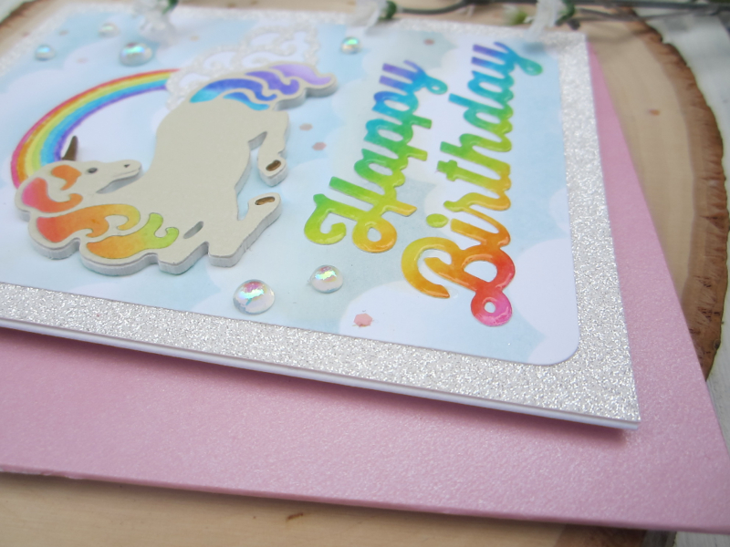 Rainbow Unicorn front