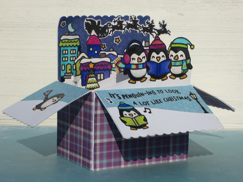 Penguin Christmas front