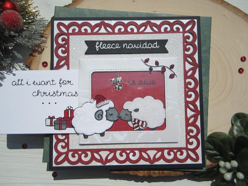 Fleece Navidad front 1