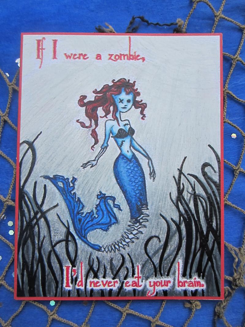 Zombie Mermaid front